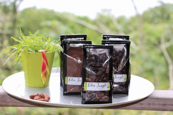 Cacao à la vente - Eden Jungle Lodge - Bocas del Toro - Panama